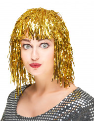 Peruca dourada para adulto