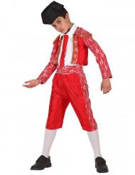 Disfarce toureador espanhol menino