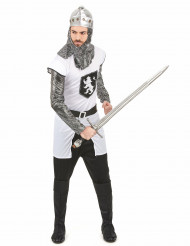 Disfarce de cavaleiro para homem