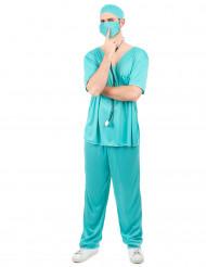 Disfarce de médico para homem