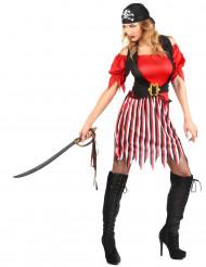 Disfarce de pirata túnica para mulher