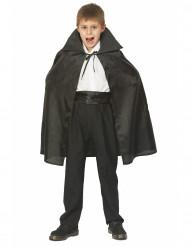 Capa de vampiro Halloween para criança