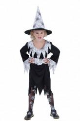 Disfarce bruxa aranha rapariga Halloween