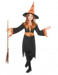 Disfarce bruxa rapariga Halloween