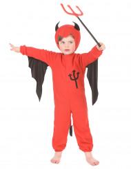 Disfarce diabo rapaz Halloween