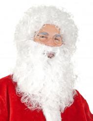 Barba e peruca de Pai Natal