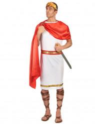 Disfarce de romano com coroa homem