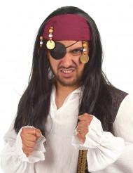 Peruca de pirata mulher