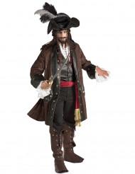 Disfarce de pirata das Caraíbas para homem