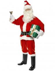 Disfarce Pai Natal de luxo homem