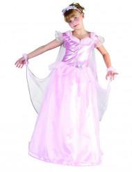 Disfarce de princesa com véu menina