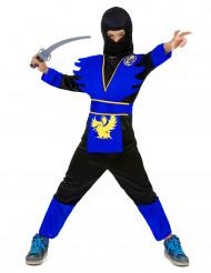 Disfarce ninja azul para rapaz