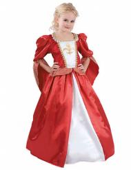 Disfarce princesa medieval para menina