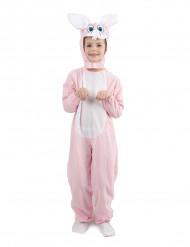 Disfarce coelho criança