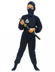 Disfarce ninja comando rapaz