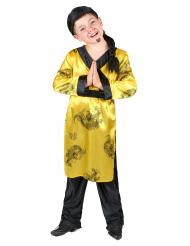 Disfarce de chinês para rapaz
