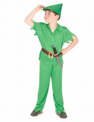 Disfarce homem dos bosques para rapaz