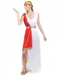 Disfarce de deusa romana mulher
