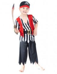 Disfarce pirata com calças menino