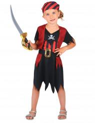 Disfarce pirata corsário menina