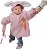 Disfarce coelho criança camisola