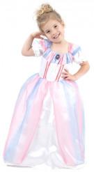 Disfarce de princesa preciosa para menina