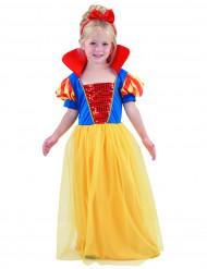 Disfarce de princesa com bandolete menina
