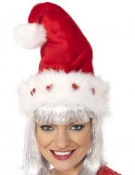 Gorro de Natal de luxo adulto