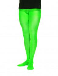 Collants opacos verdes homem