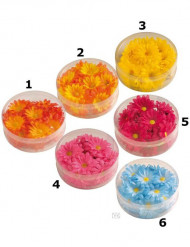 Flores sintéticas decoração