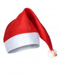 Gorro de Natal com chocalho adulto
