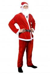 Disfarce Pai Natal para homem