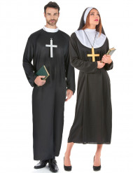 Disfarce de casal religiosos