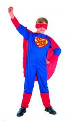 Disfarce super herói menino