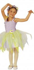 Disfarce fada bailarina violeta menina