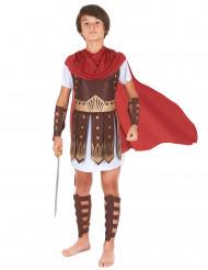 Disfarce de centurião romano para menino