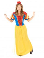 Disfarce de princesa conto de fadas menina