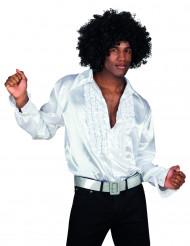 Camisa branca Disco para homem