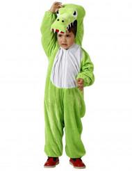 Disfarce de crocodilo para criança