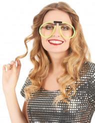 Óculos fosforescentes