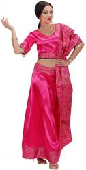 Disfarce dançarina Bollywood mulher