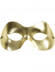 Máscara dourada adulto