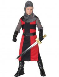 Disfarce cavaleiro menino