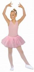 Tutu de bailarina cor-de-rosa menina