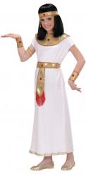 Disfarce Cleópatra egípcia menina