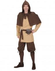 Disfarce homem medieval adulto