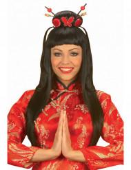 Peruca china girl mulher
