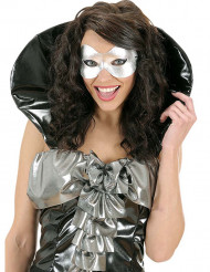 Máscara prateada para adulto