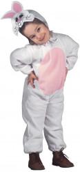 Disfarce coelho criança macacão