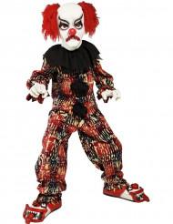 Disfarce palhaço assustador criança Halloween
